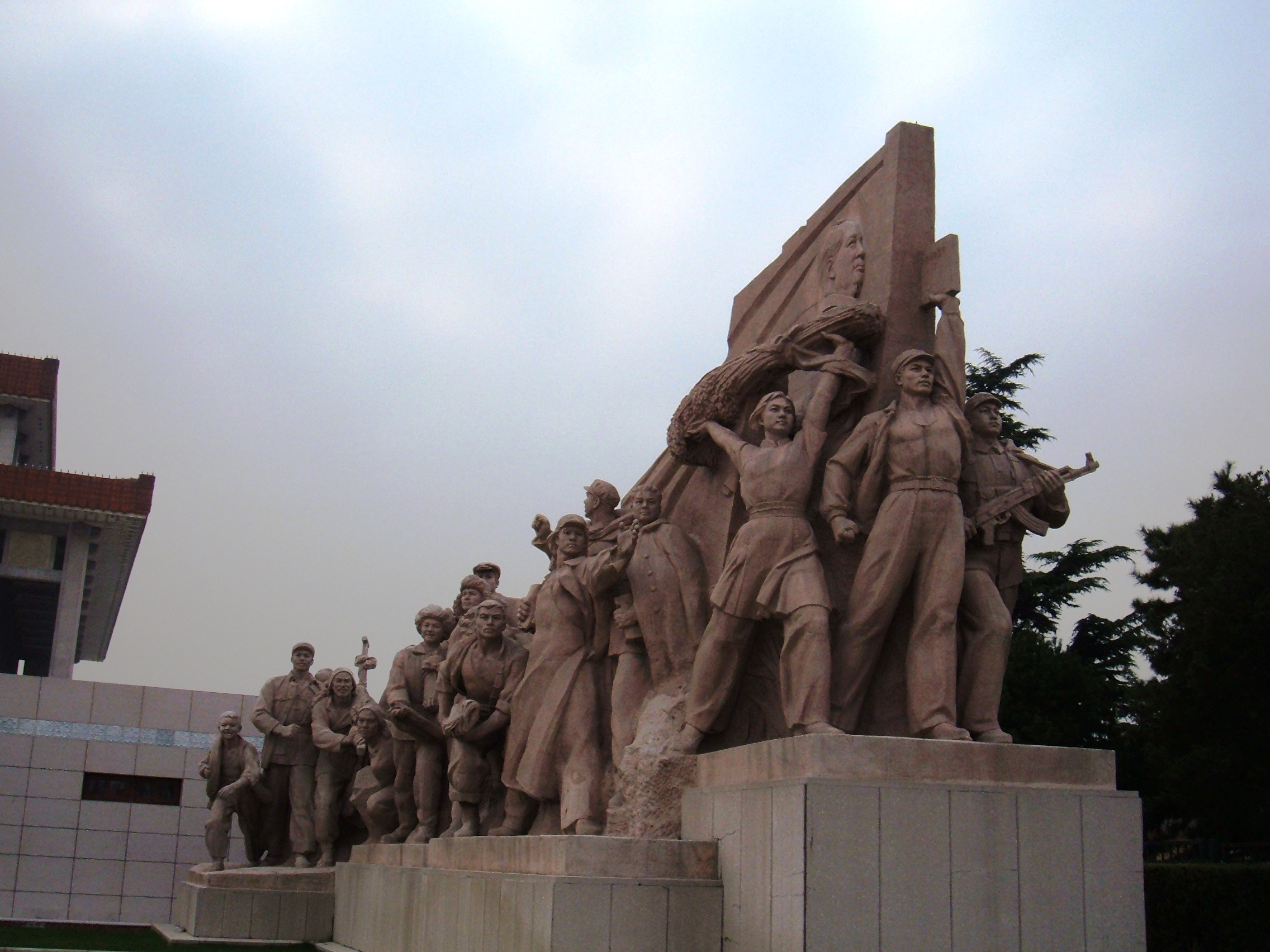 The United States of the Solar System, A.D. 2133 (Book Seven and the Seven Seals) - Page 37 Mausoleum_of_Mao_Zedong_west_sculpture