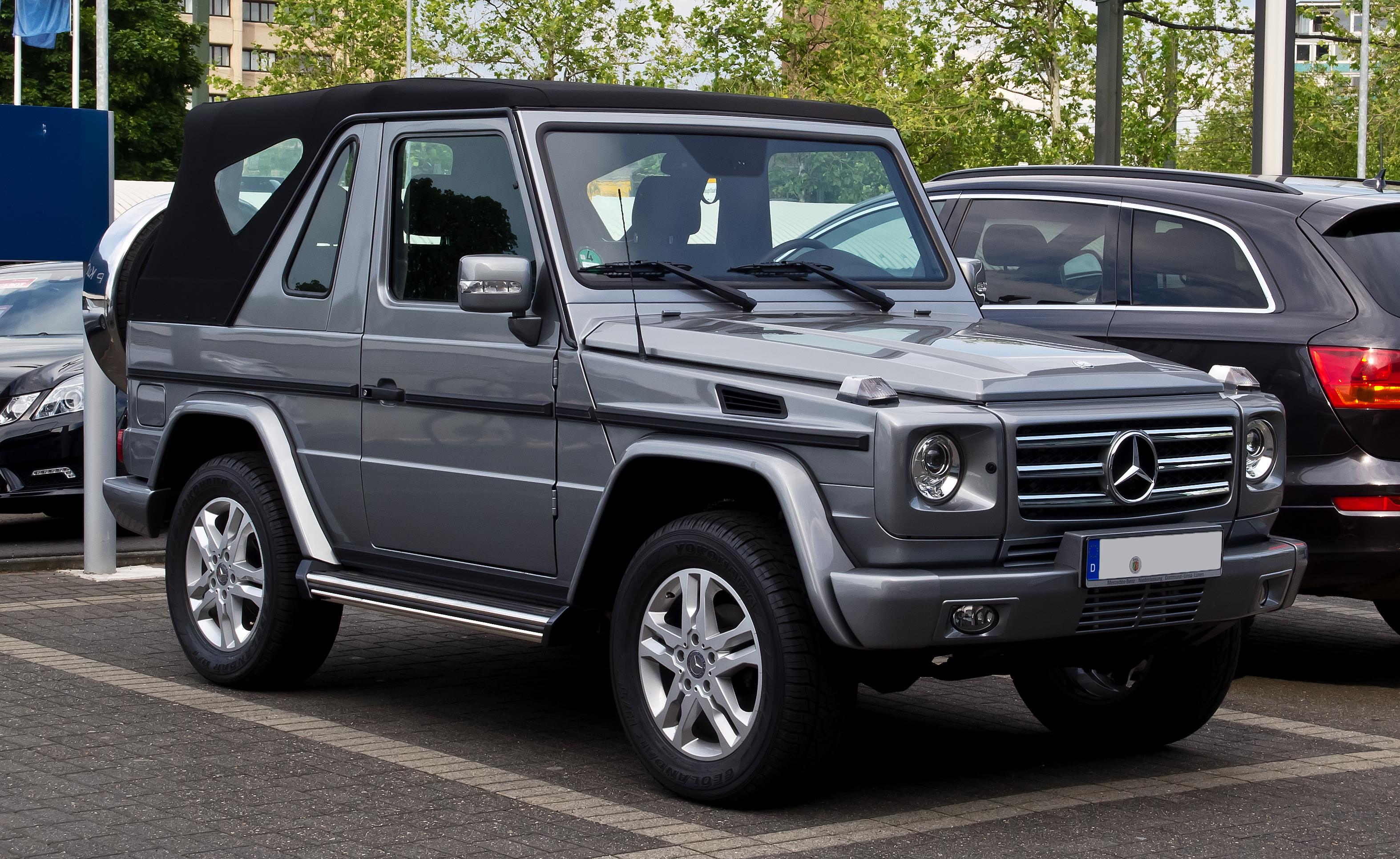 File:Mercedes-Benz G 350 BlueTEC Cabriolet (W 463, 2 ...