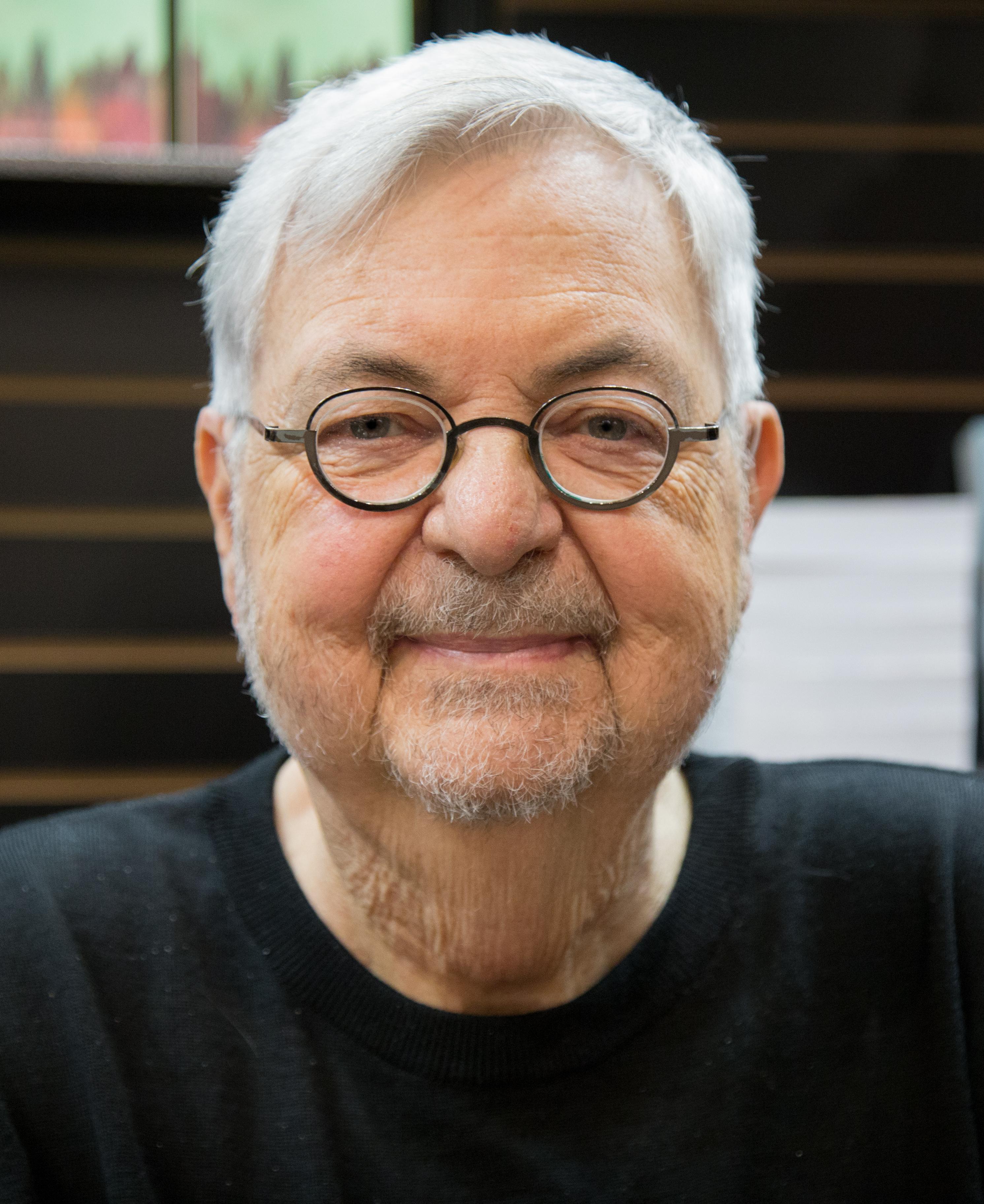 Michel Tremblay at the Salon du livre de Montréal (2017)