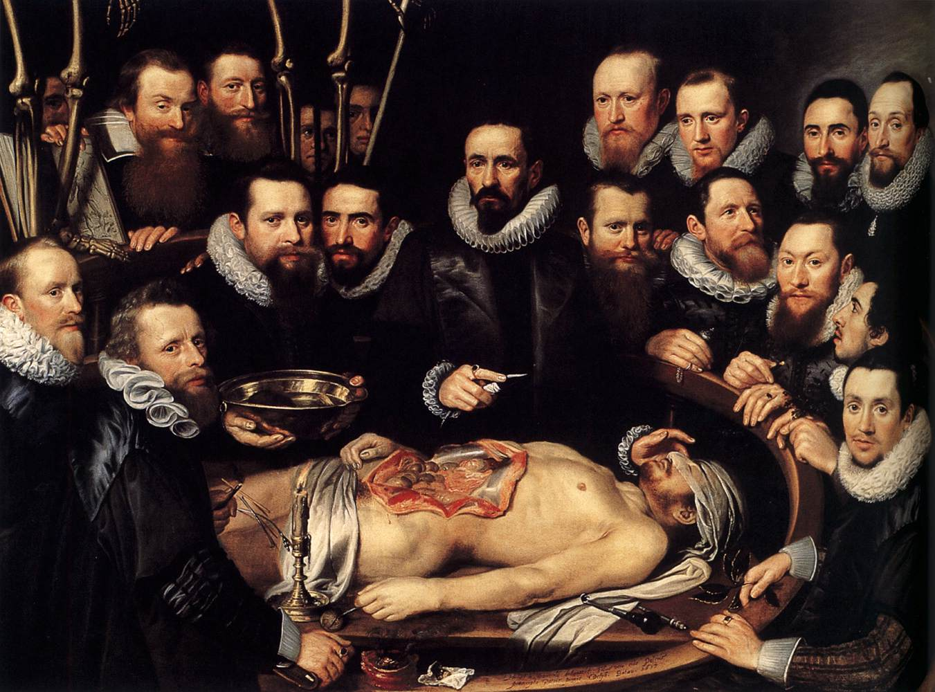 File:Michiel Jansz. van Mierevelt - Anatomy Lesson of Dr. Willem van ...