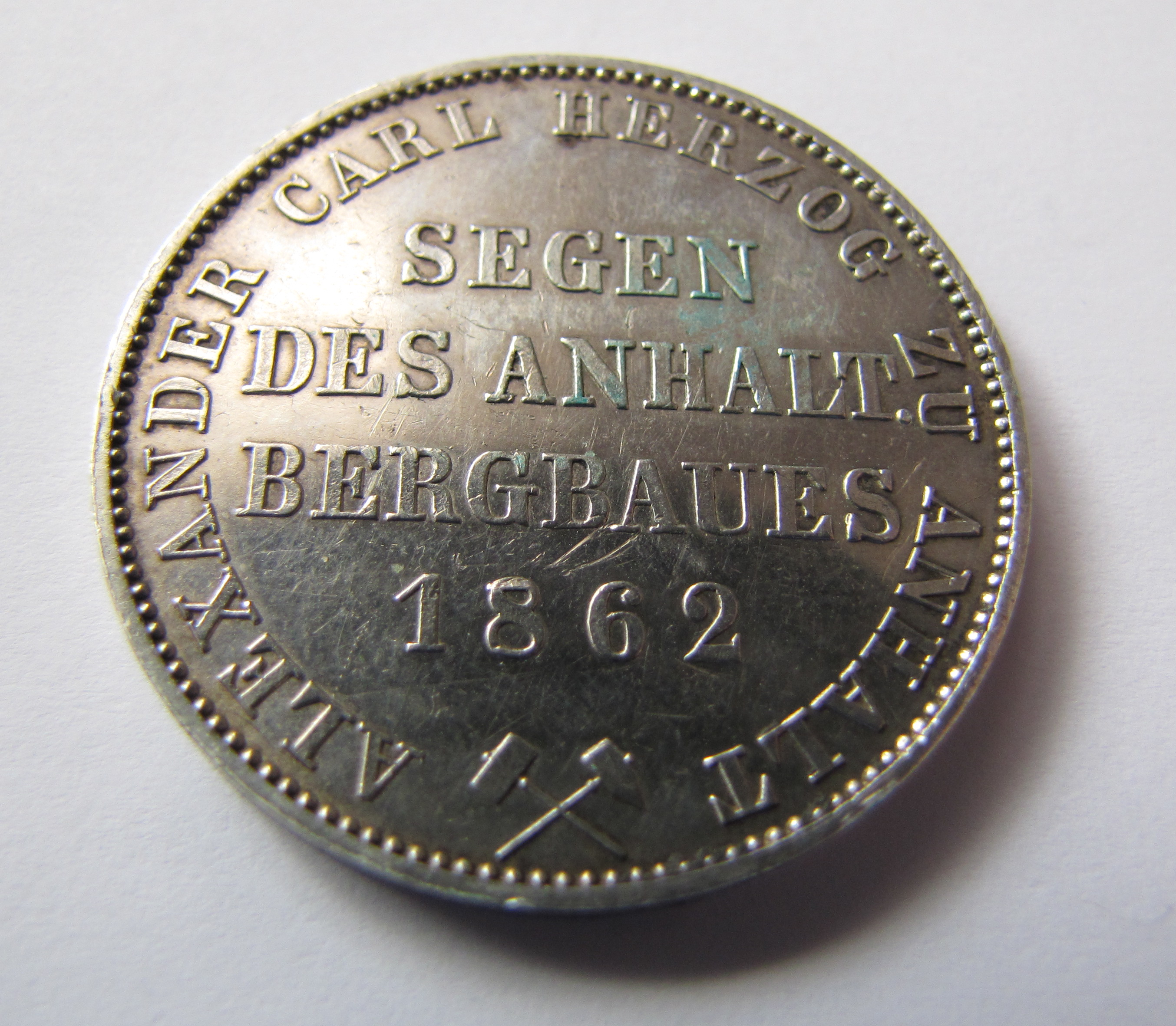 Файл:Mining Taler Anhalt 1862 obverse.jpg