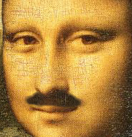 Mona Lisa with Moustache