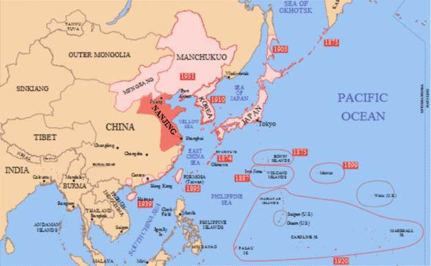 manchurian incident map