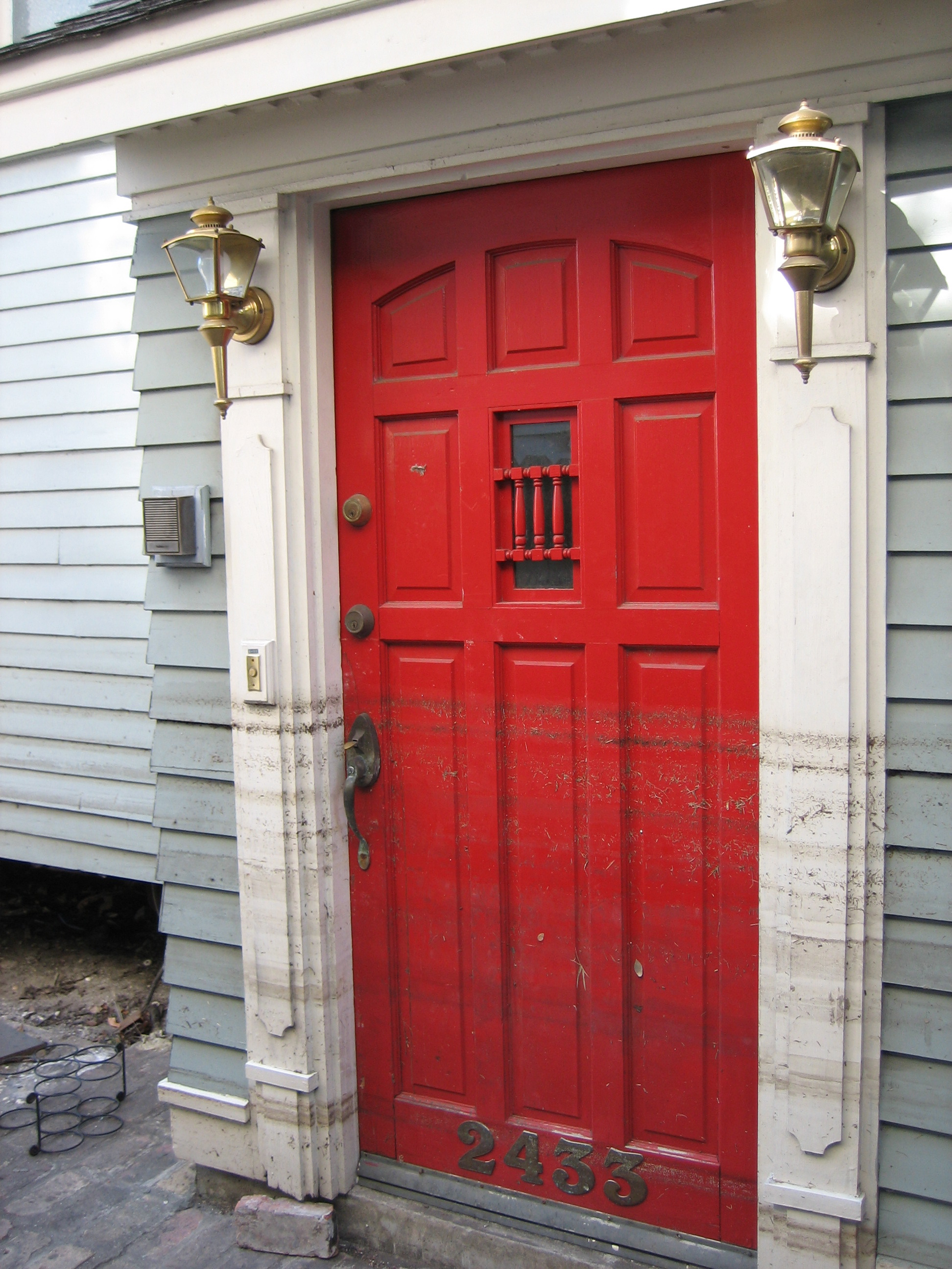 File wikimedia commons for New front door for house