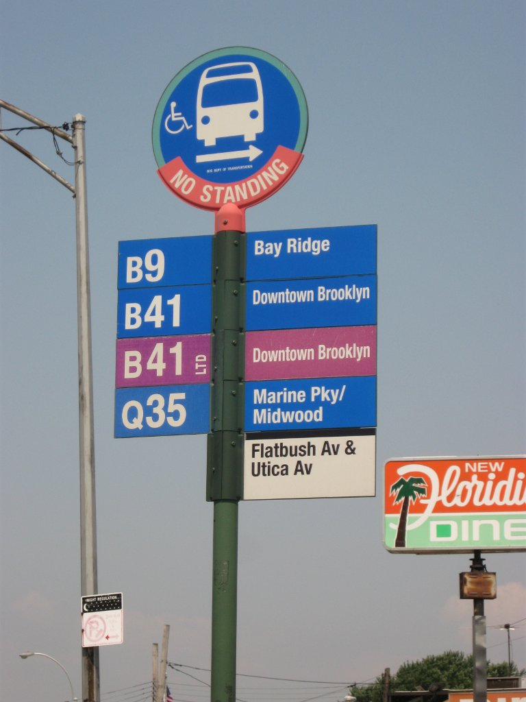 Image result for new york bus stop