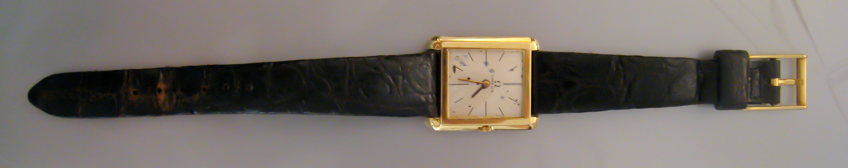 1960: John F. Kennedy's OMEGA Slimline watch