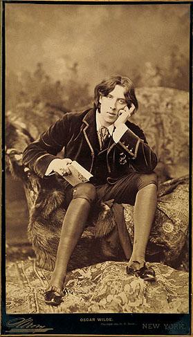 Oscar Wilde No. 18 (1882), the subject of Saro...