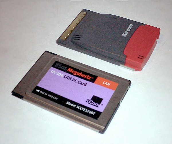 Laptop pc card slot types