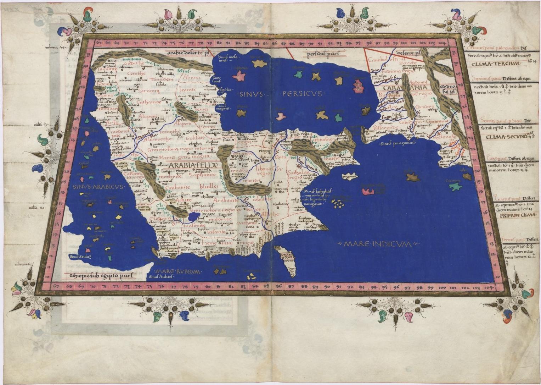 International History Blog: Vintage Maps of the Arabian ...