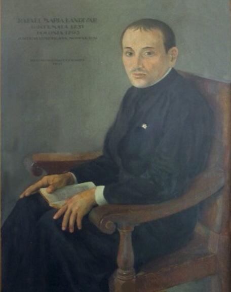 Retrato del poeta, que se encuentra en el Museo de la Universidad de San Carlos