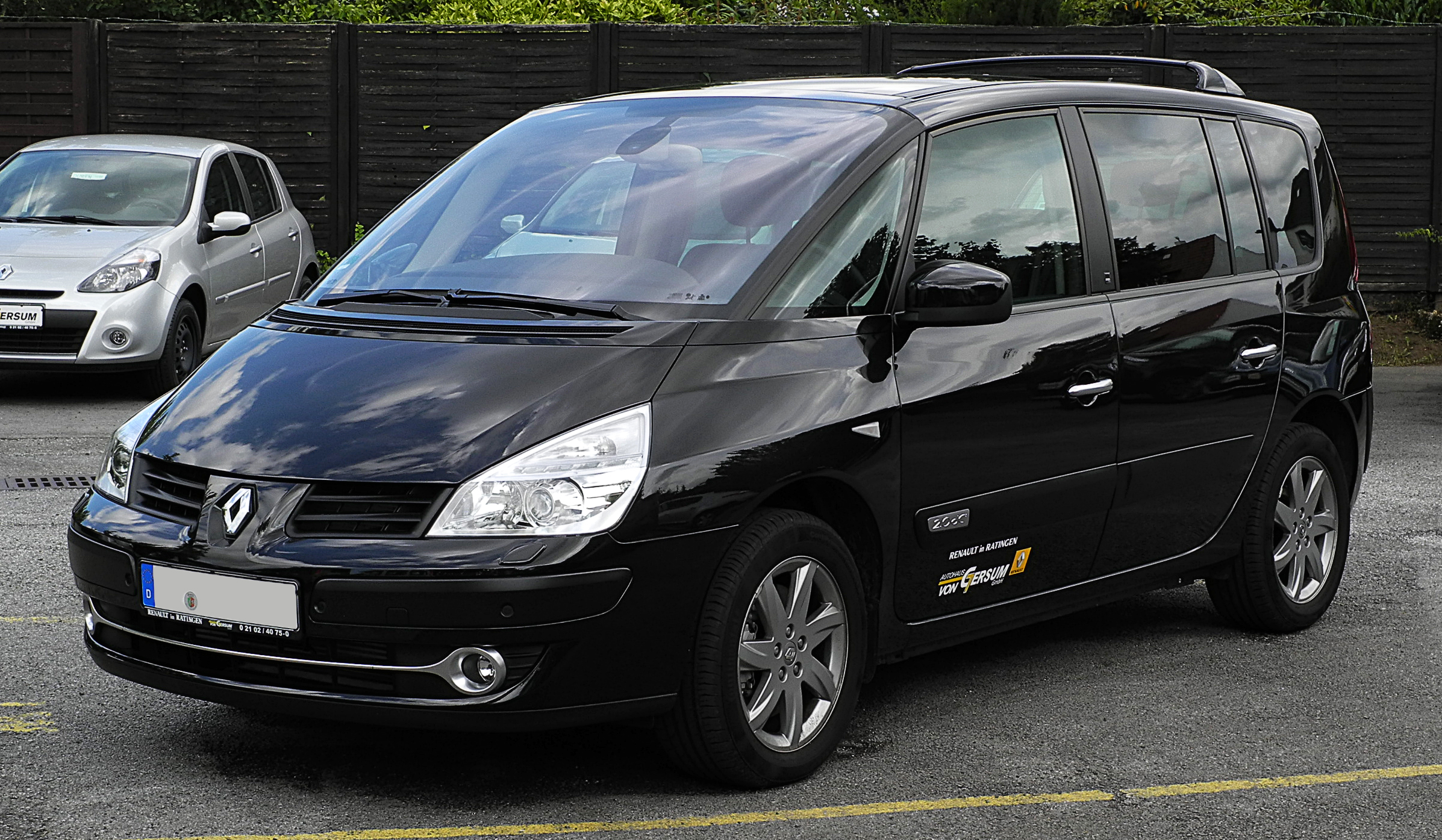 file renault espace edition 25th dci 175 iv facelift frontansicht 1 17 juli 2011. Black Bedroom Furniture Sets. Home Design Ideas