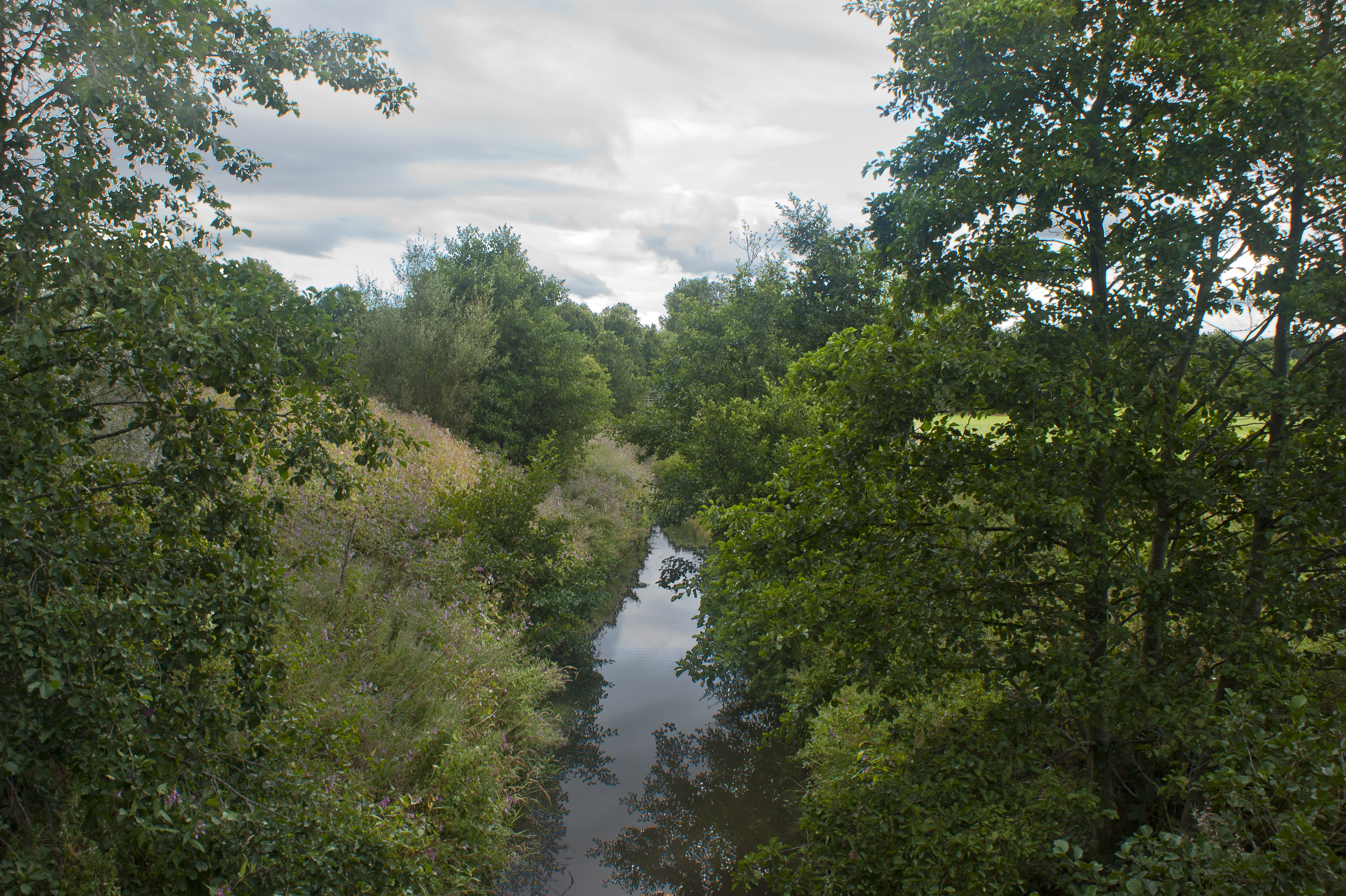 River Lostock at Leyland Business Park.jpg