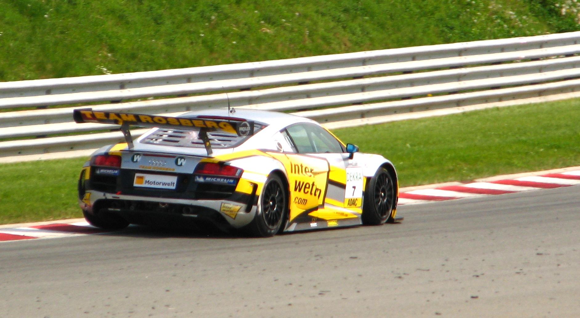 Audi R8 Wiki >> File:Rosberg Audi R8 ADAC GT.jpg - Wikimedia Commons