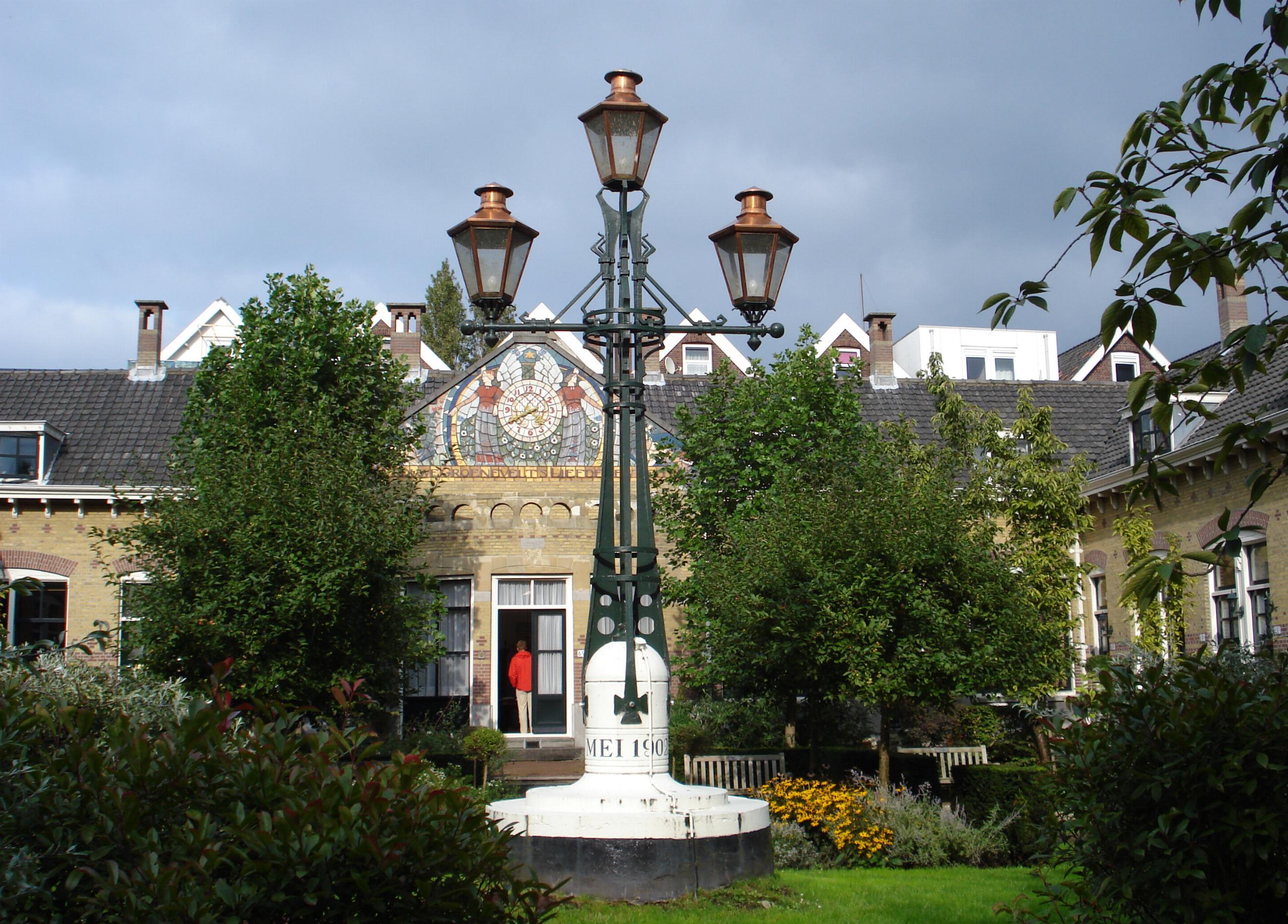 Vrouwe groenevelt 39 s liefdegesticht in rotterdam monument for De lantaarn rotterdam