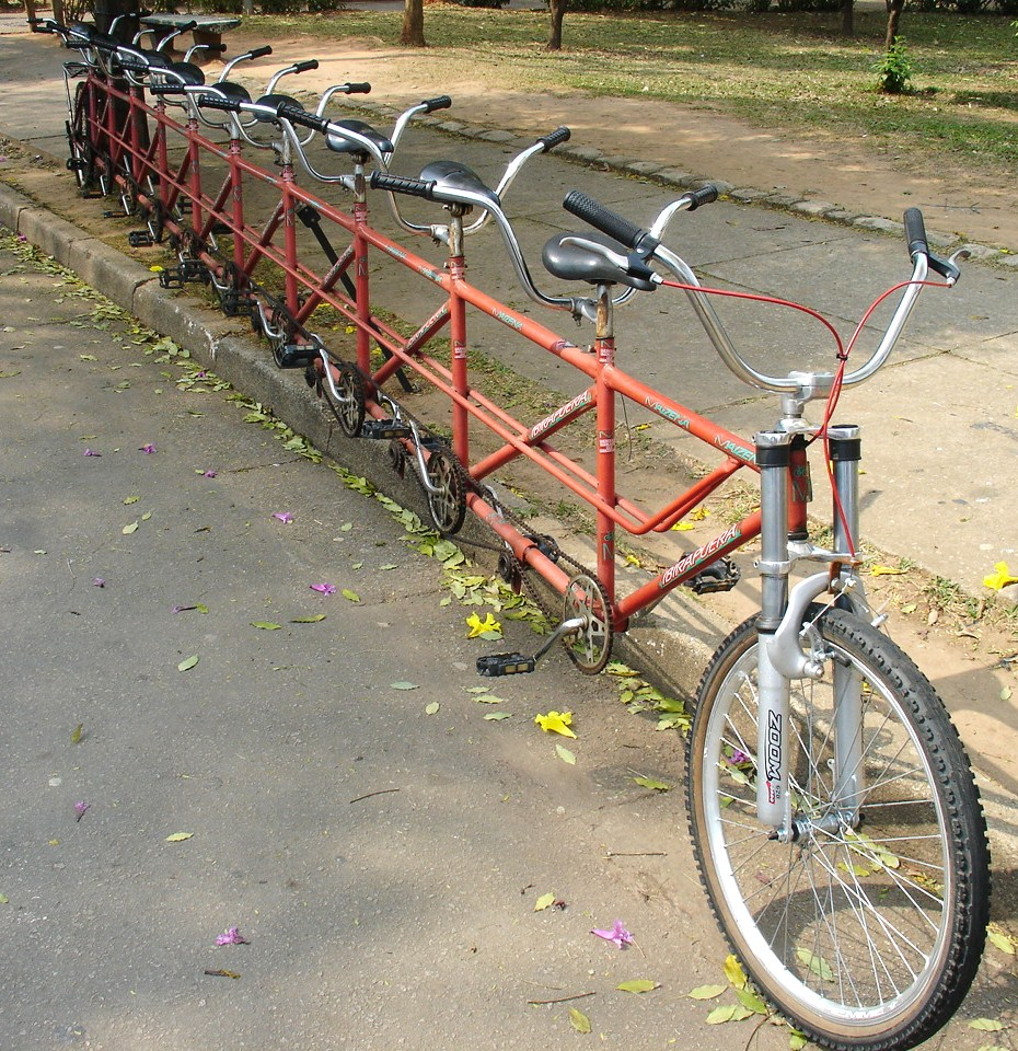 how to make a tandem bike