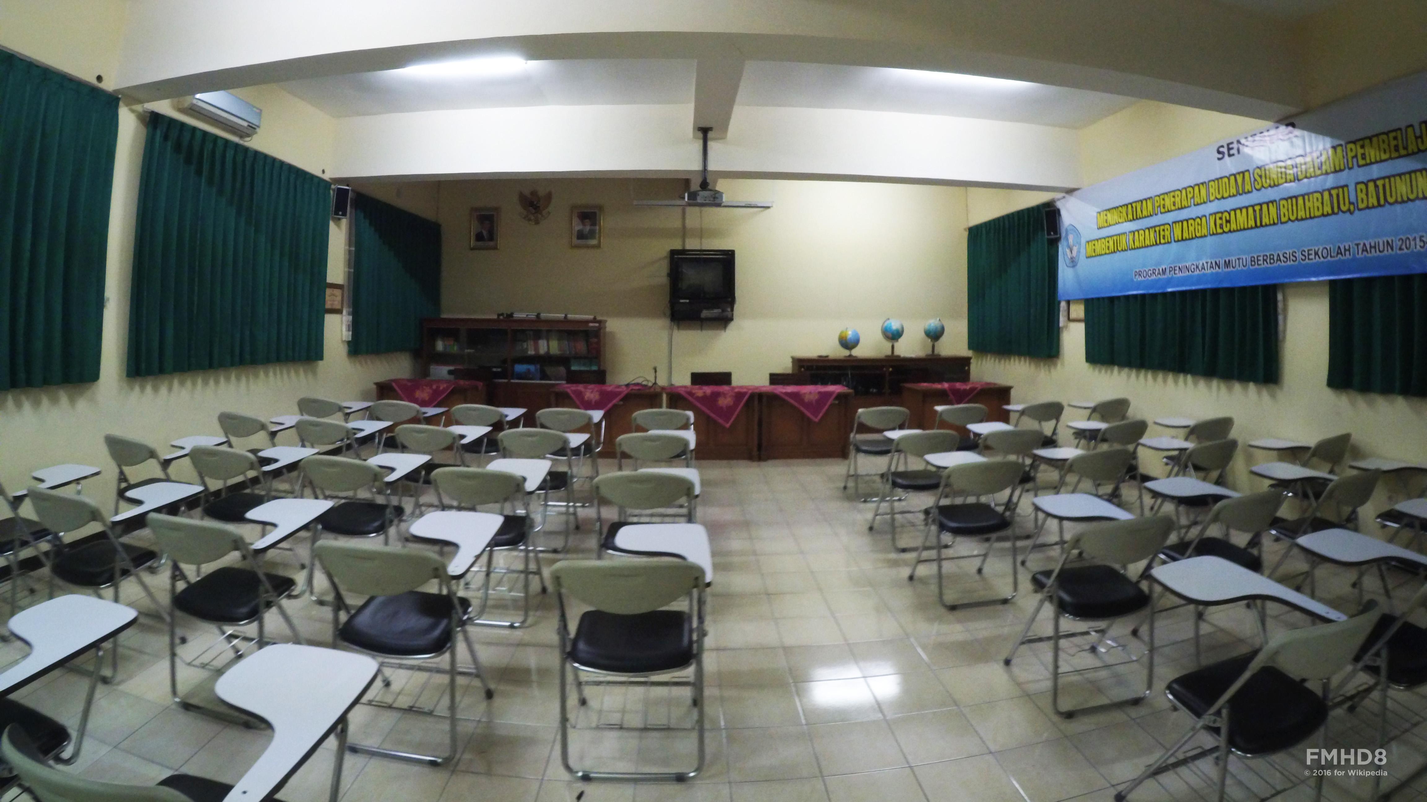 Gambar Denah Ruang Kelas Smp
