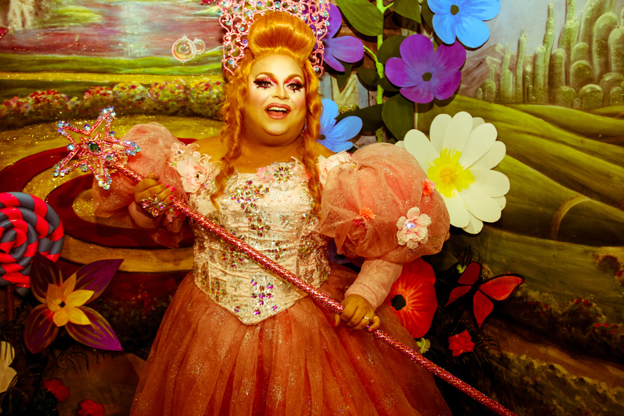 Ginger Minj American drag queen