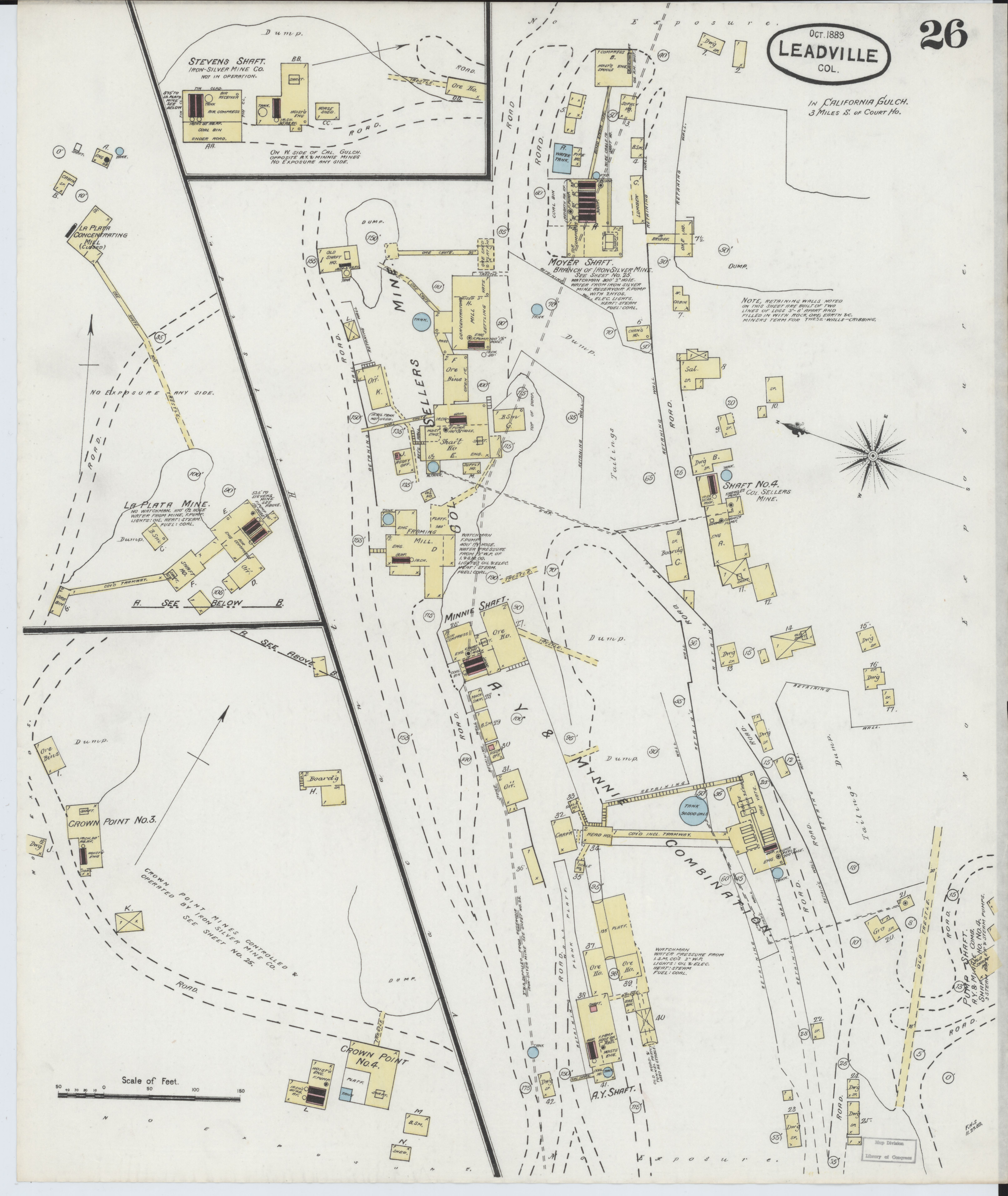 Lake County Colorado Map.File Sanborn Fire Insurance Map From Leadville Lake County