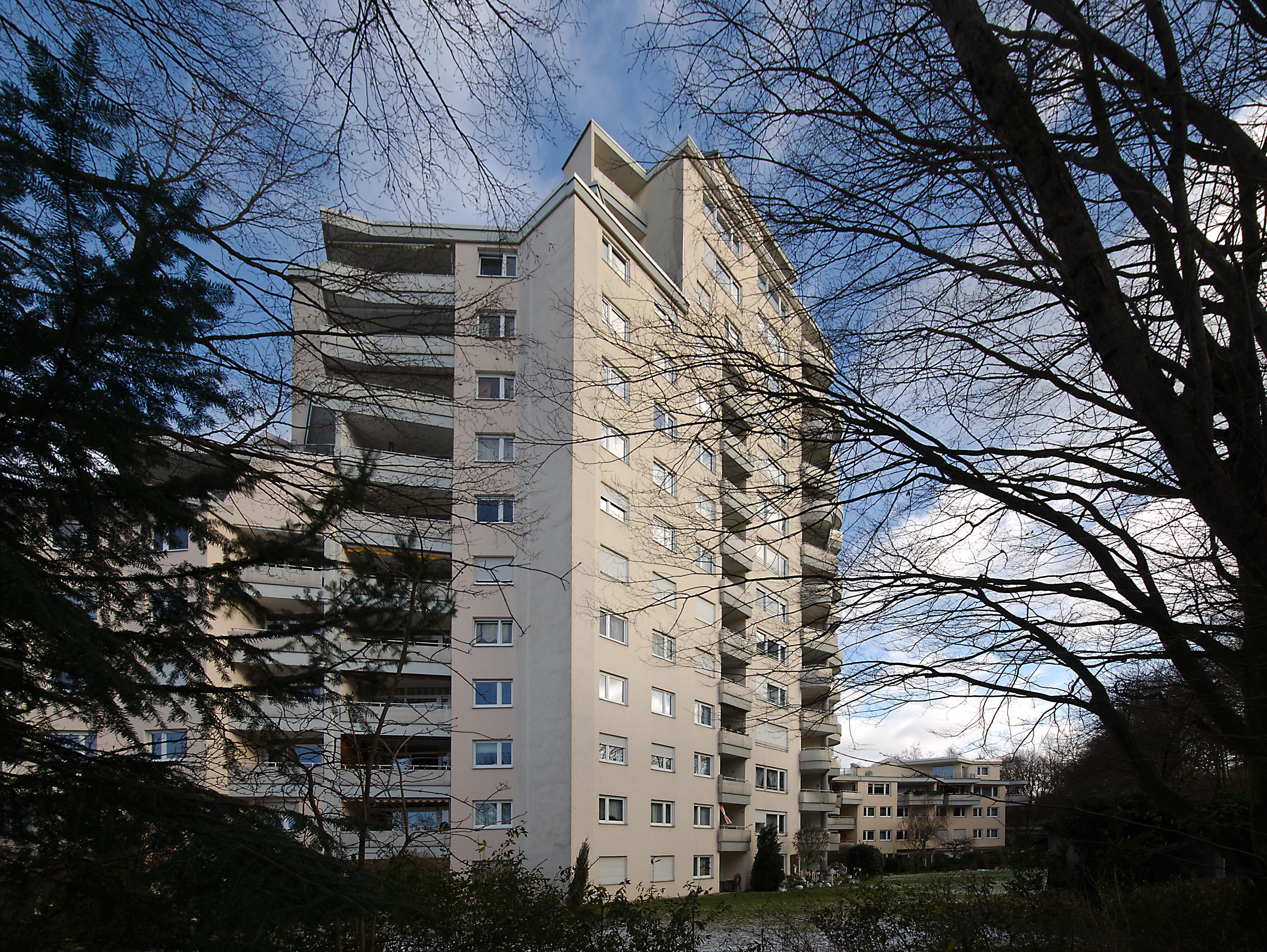 Hans scharoun for Design apartment zuffenhausen