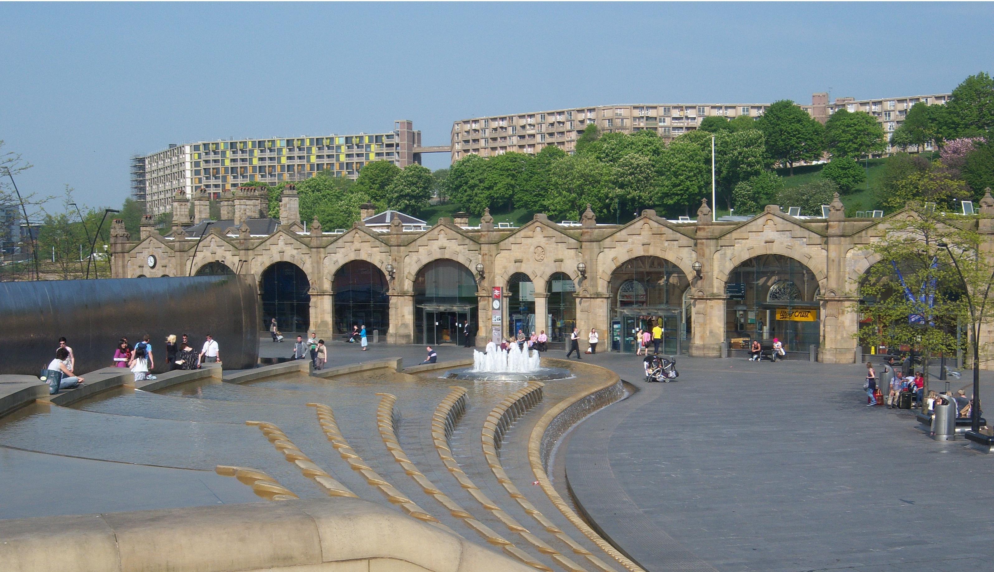 File Sheffield Railway Station Jpg Wikimedia Commons