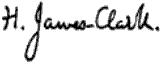 Signature of Henry James Clark.png