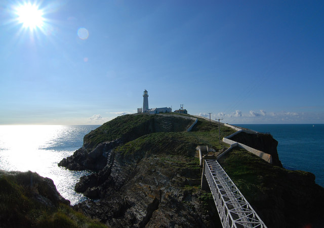 South Stack lighthouse - geograph.org.uk - 1496082