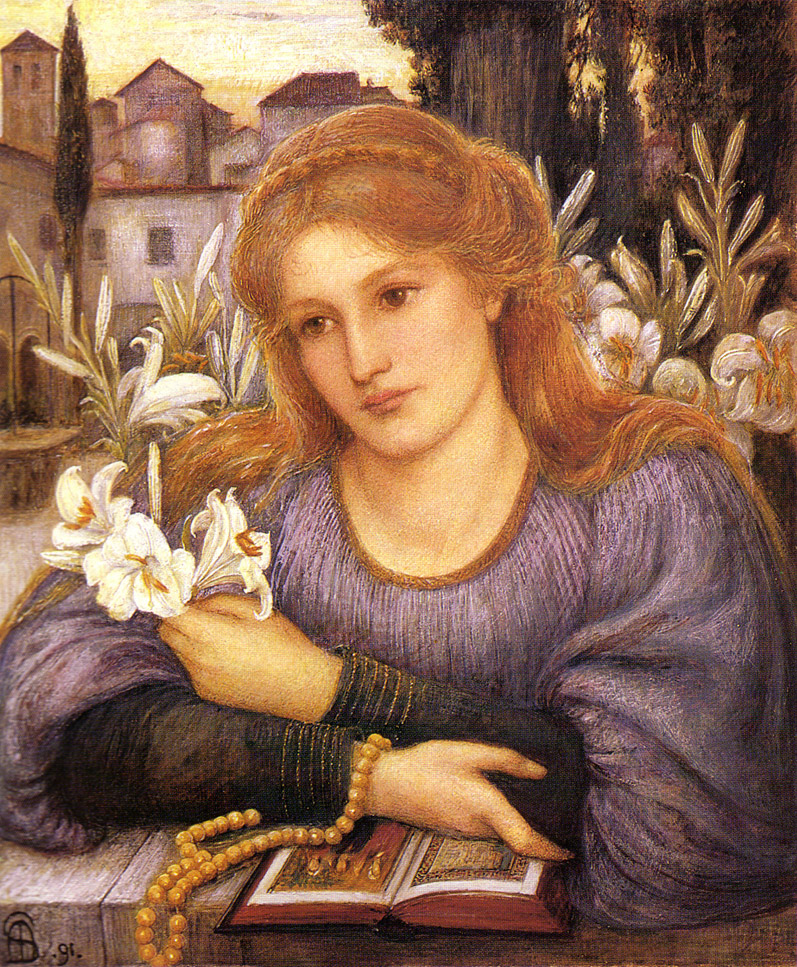 https://upload.wikimedia.org/wikipedia/commons/b/b1/Spartali_Stillman%2C_Marie_-_Convent_Lily_-_1891.jpg