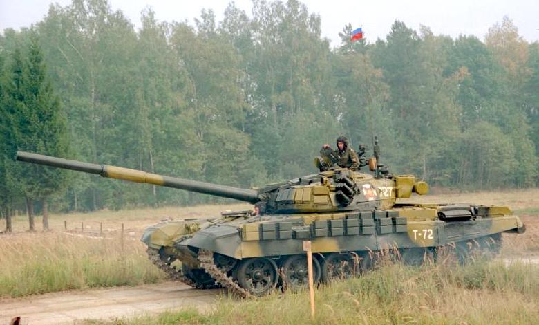 T-72 tank in Russian service (2)