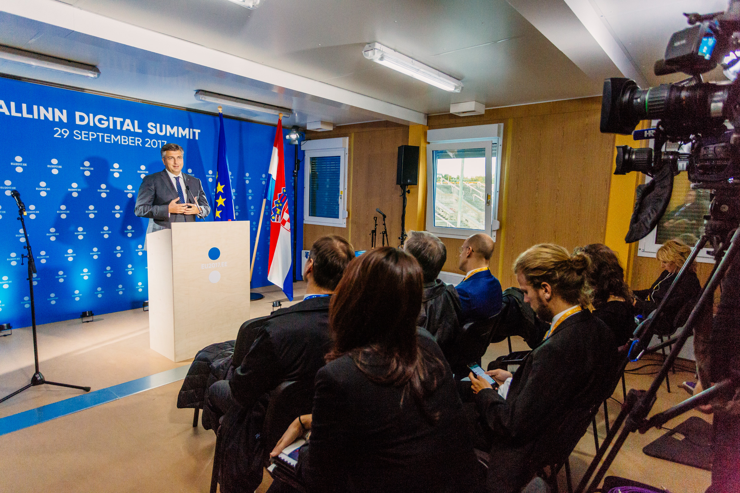 Exit doorstep and member statesu0027 press conferences Andrej Plenkovi? & File:Tallinn Digital Summit. Exit doorstep and member statesu0027 press ...