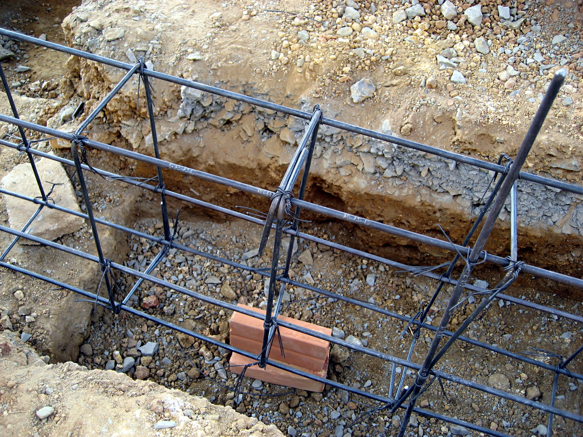 File Thai House Rebar Work Closeup Jpg Wikimedia Commons