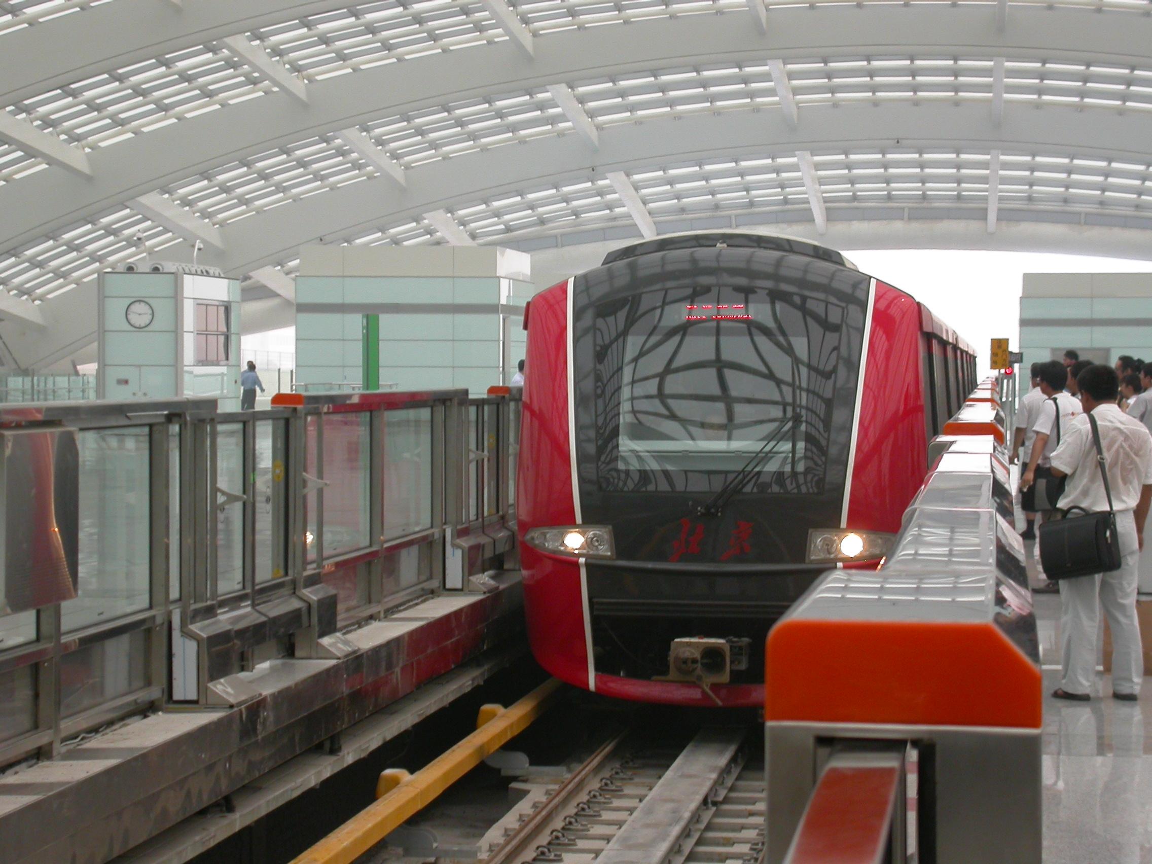 Beijing Metro Lines To Food Markets