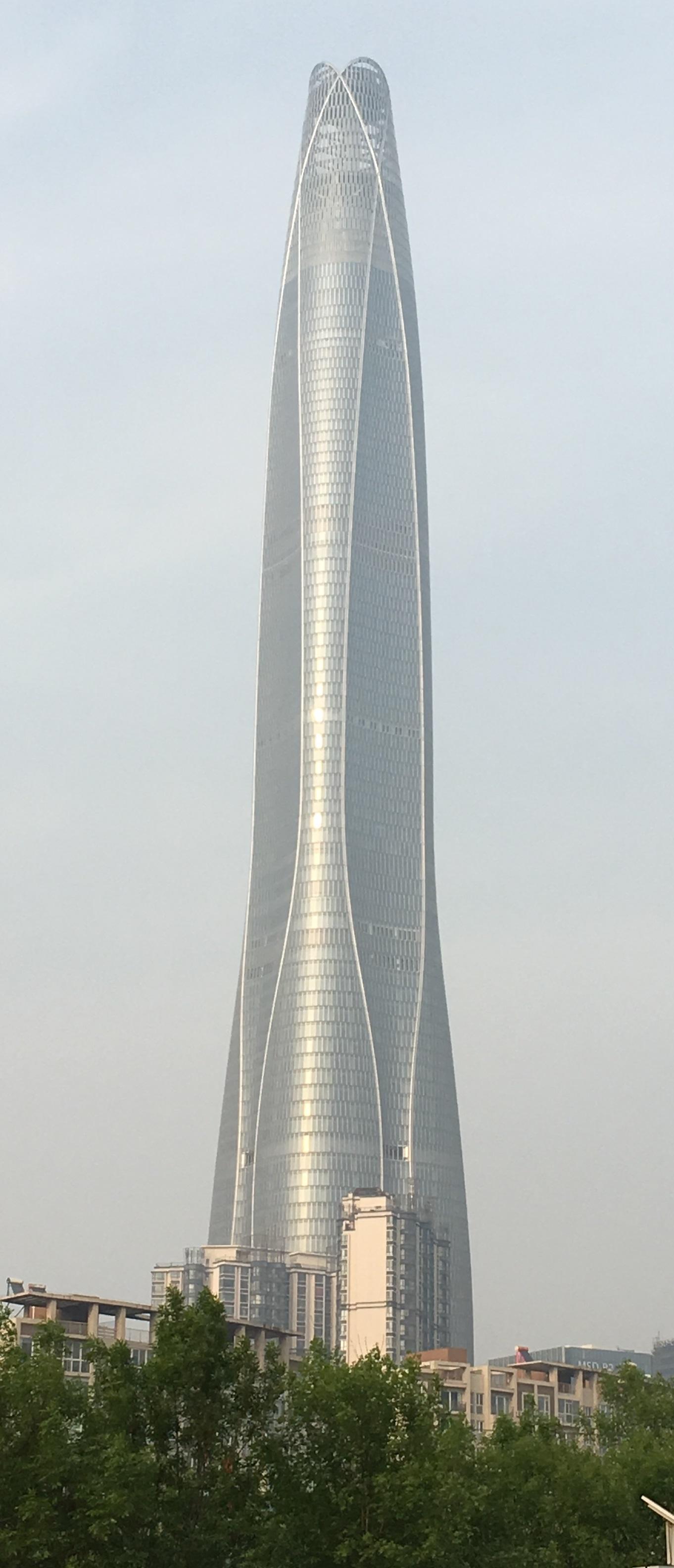 högst hus i världen - Tianjin CTF Finance Centre