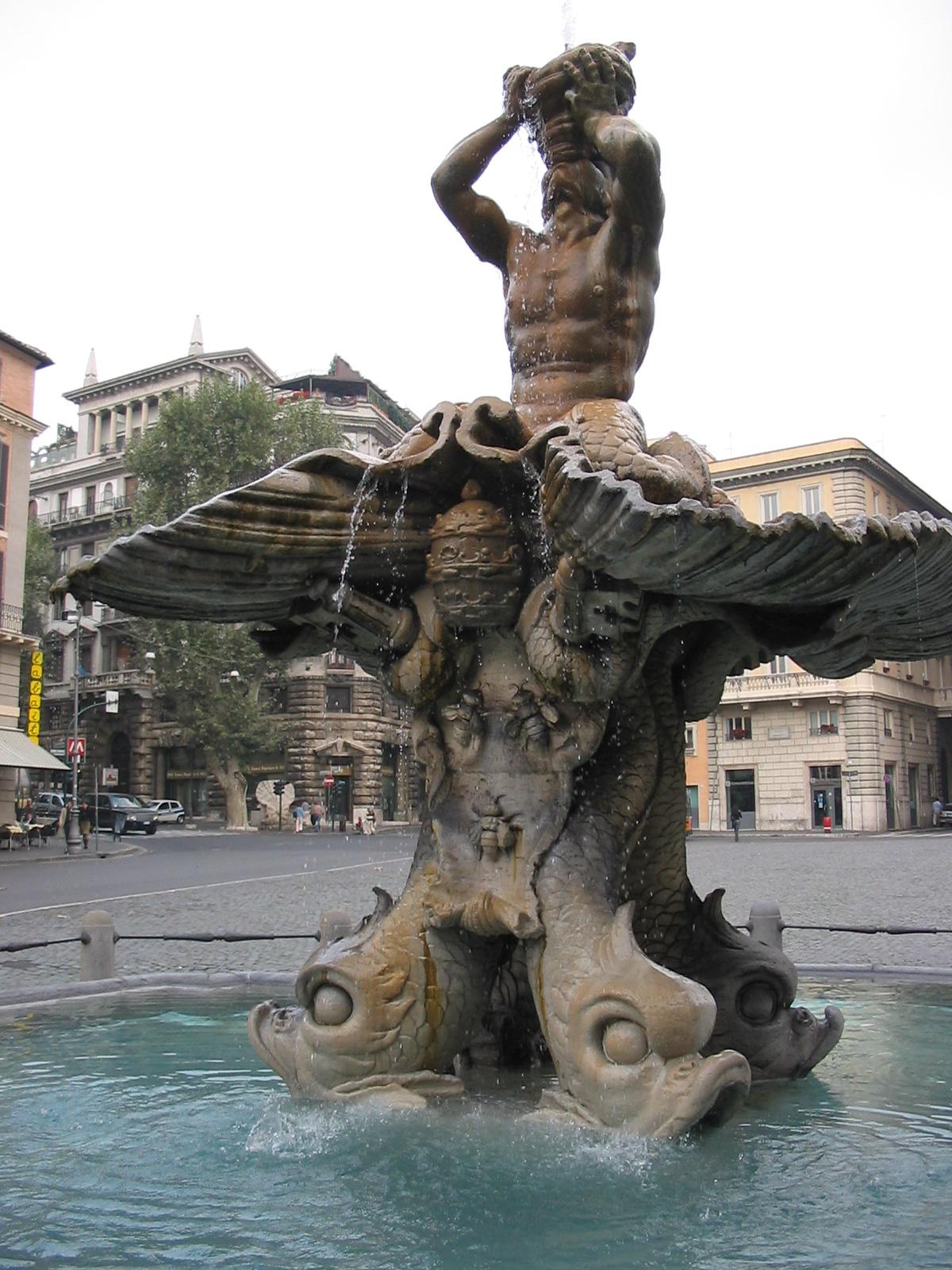 Arhitektura Baroka Tritonbrunnen_rom