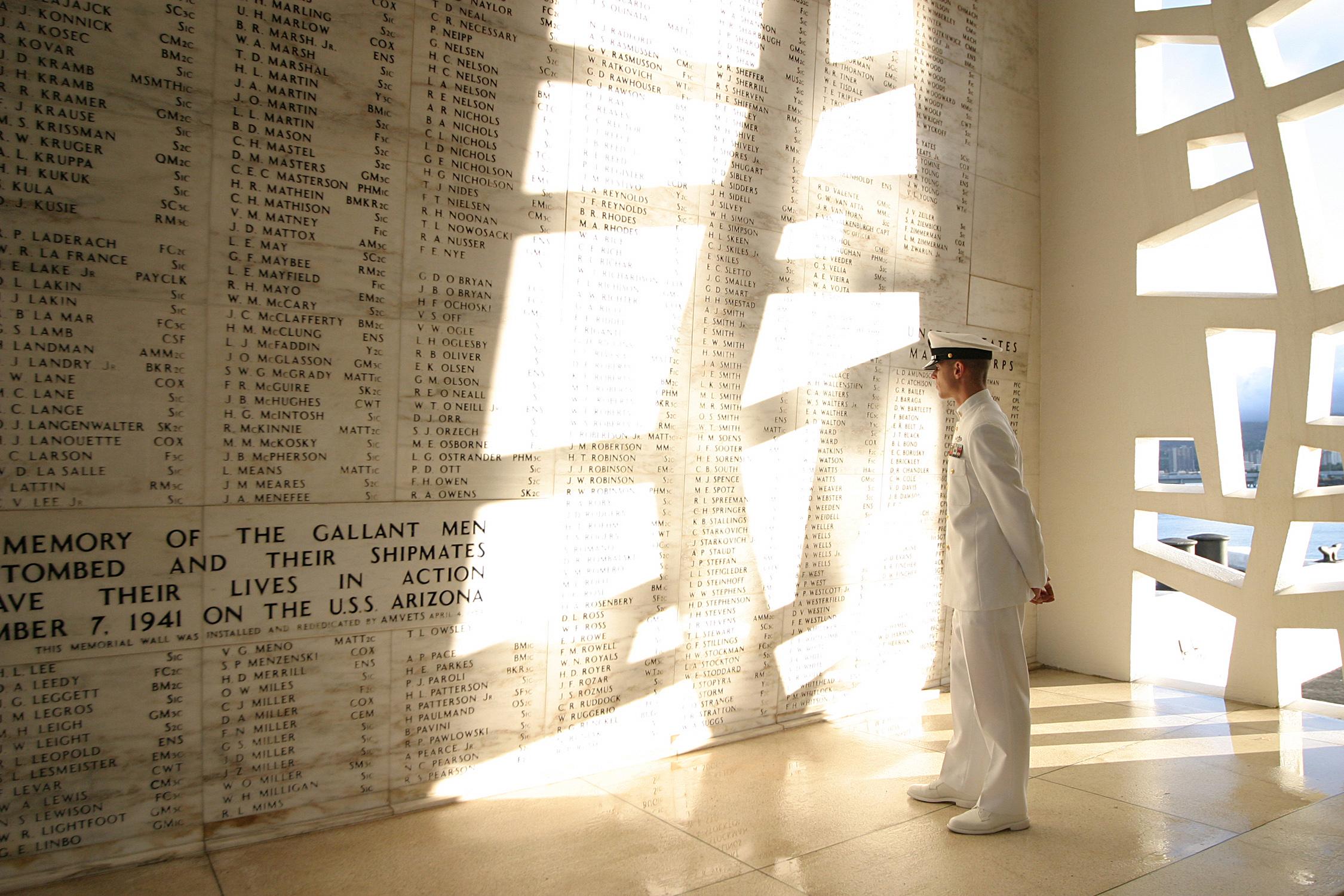 USS Arizona Memorial Shrine Room