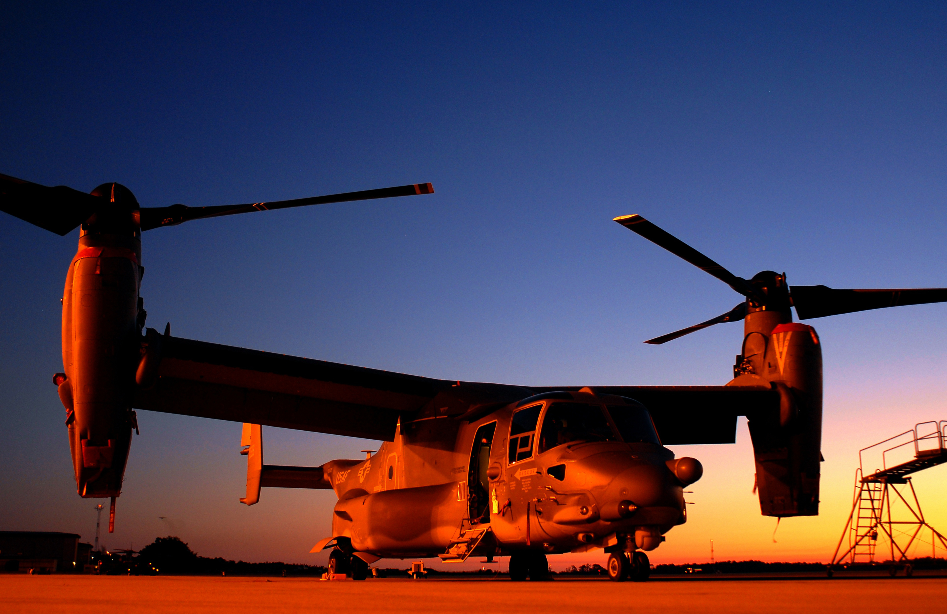 V-22 Osprey at Hurlburt Field