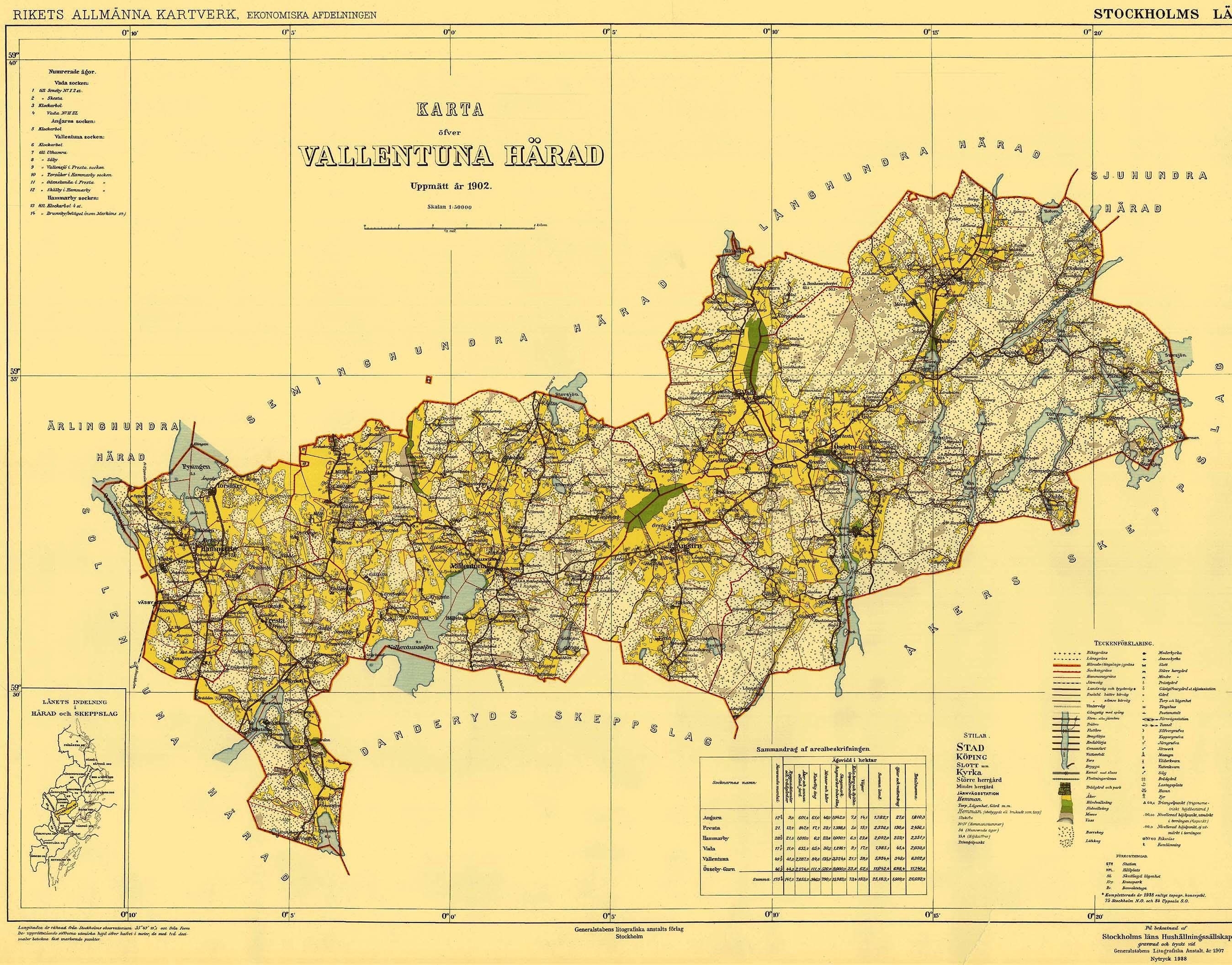 File Vallentuna Harad 1902 Karta Jpg Wikimedia Commons