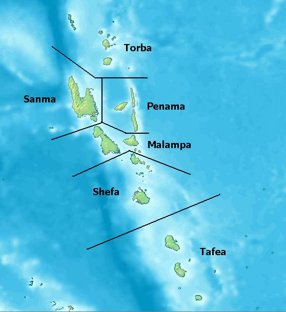 map of the shepherd islands