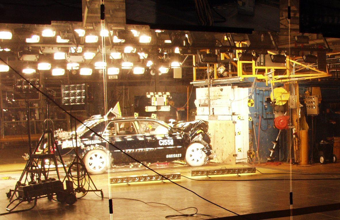 Vehicle Crash Testing File:vehicle Crash Test at The