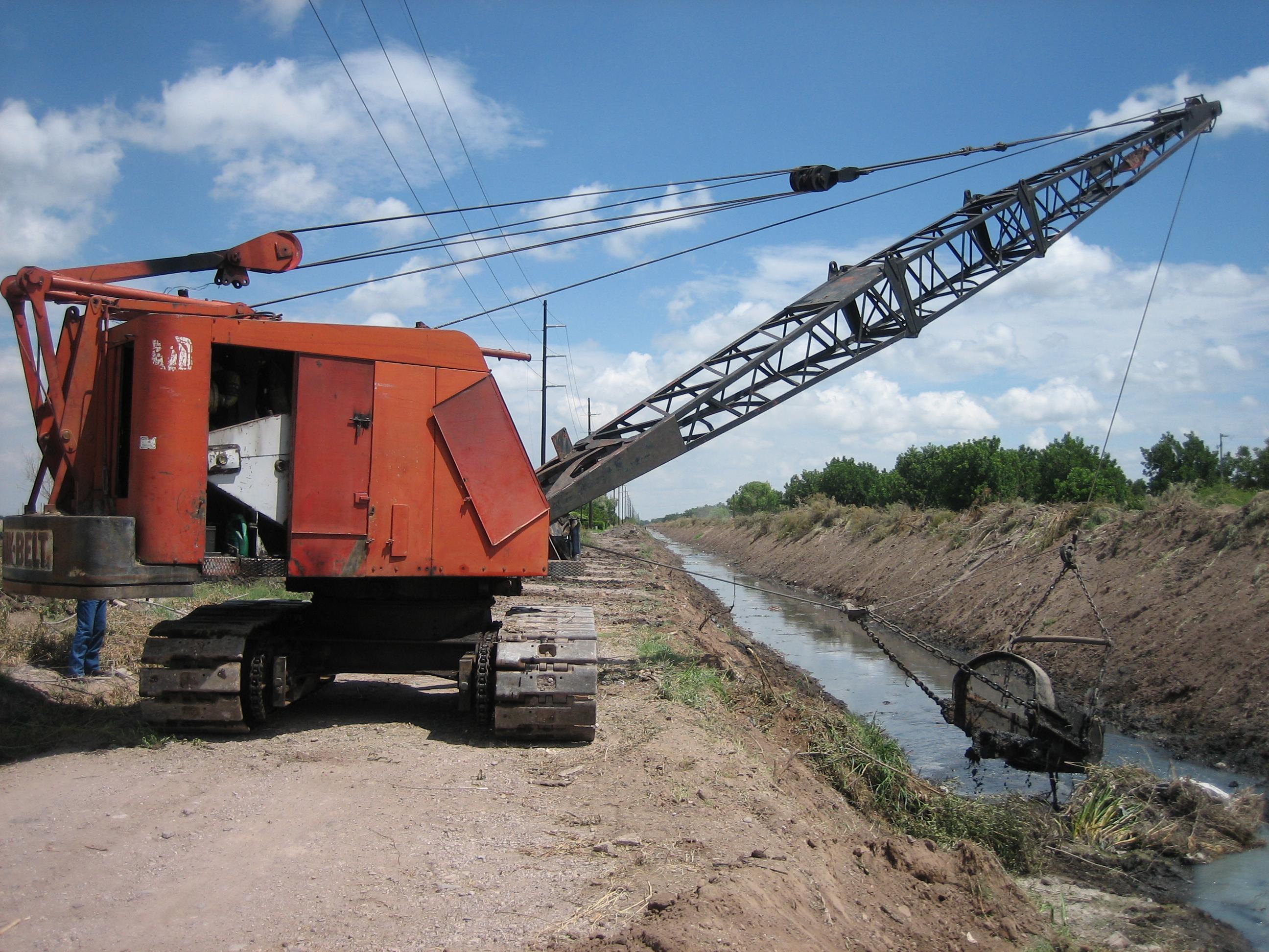 link belt macchine da costruzione Vintage_excavator