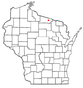 Conover, Wisconsin Town in Wisconsin, United States
