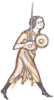 Mujeres Guerreras en la Edad Media Walpurgis