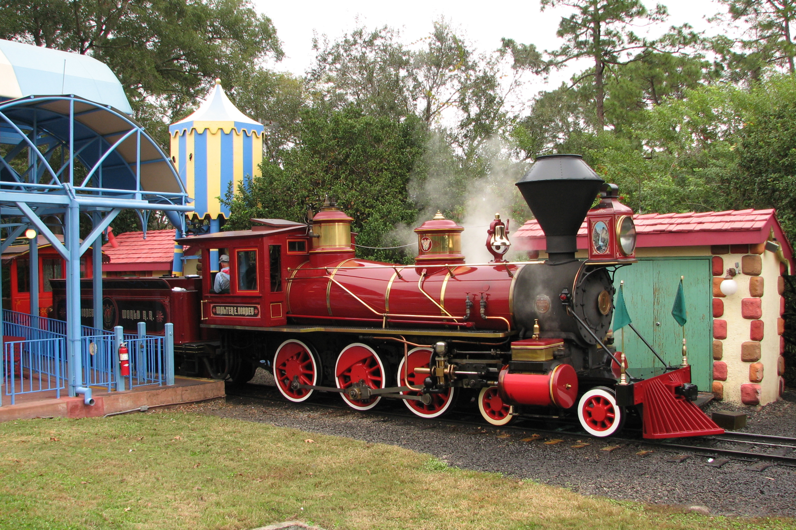Delightful File:Walt Disney World Railroad Train
