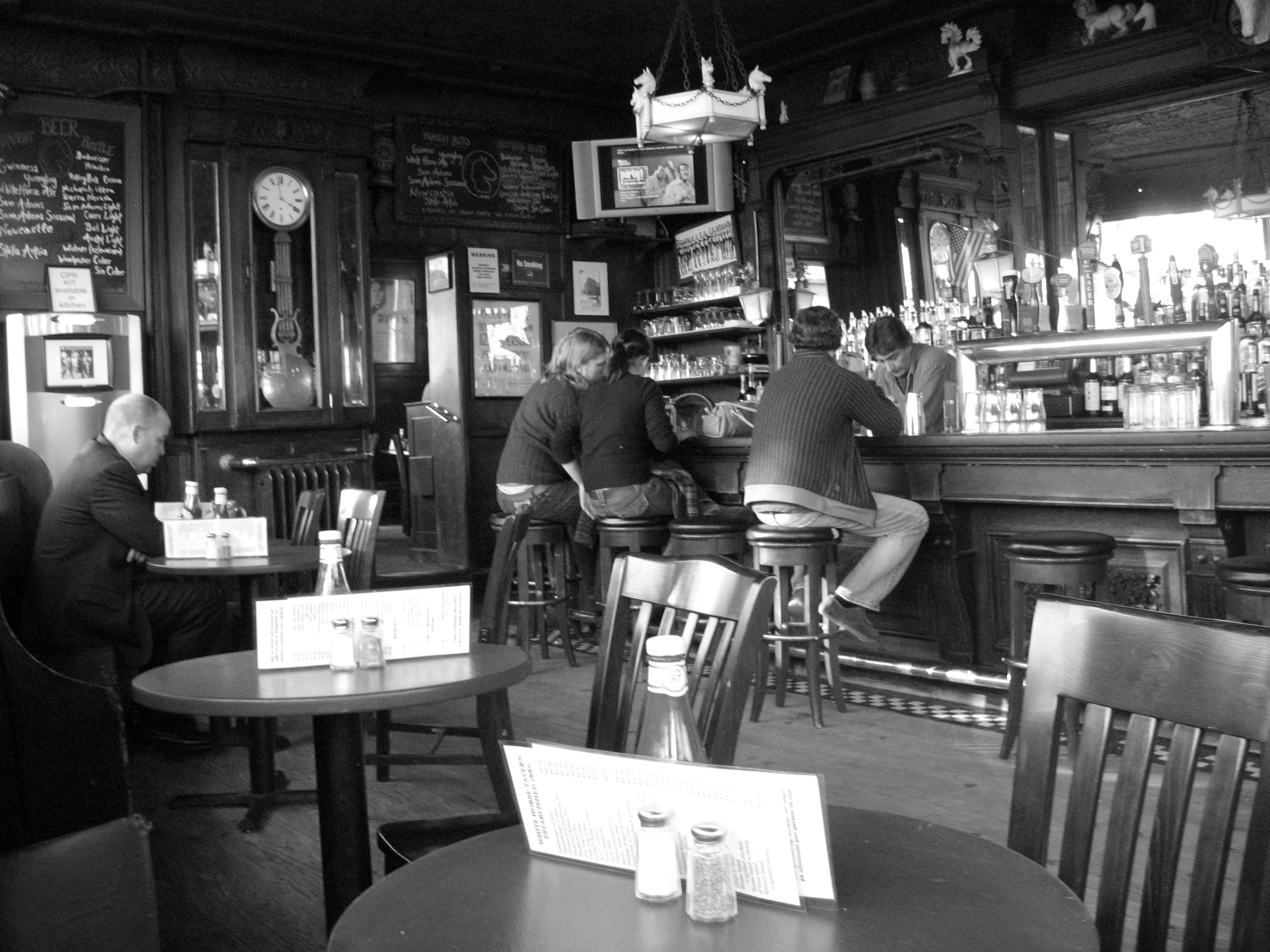 File White Horse Tavern New York City 2007 Jpg