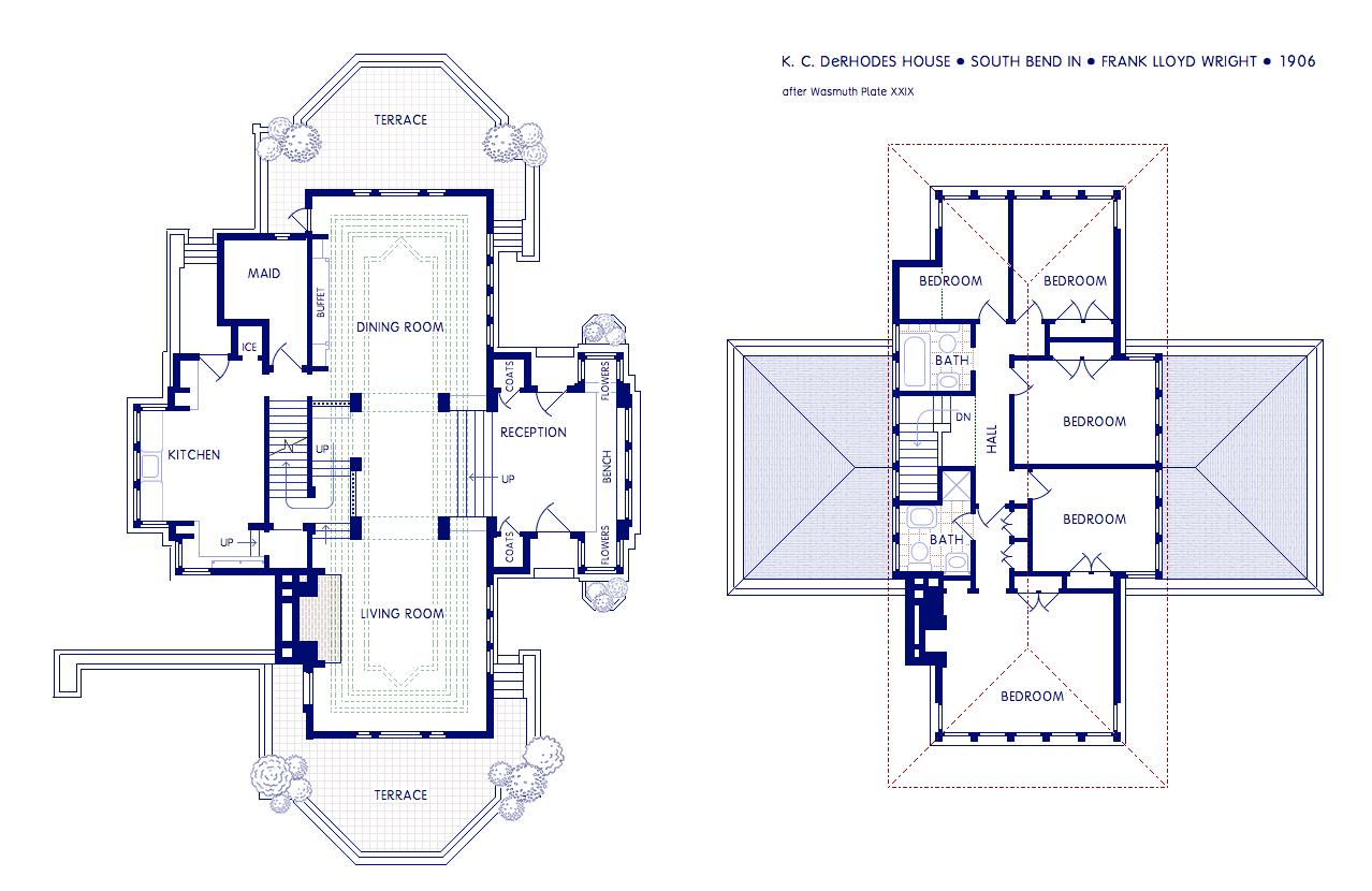 K2e_C2e_DeRhodes_House on Second Floor House Plan
