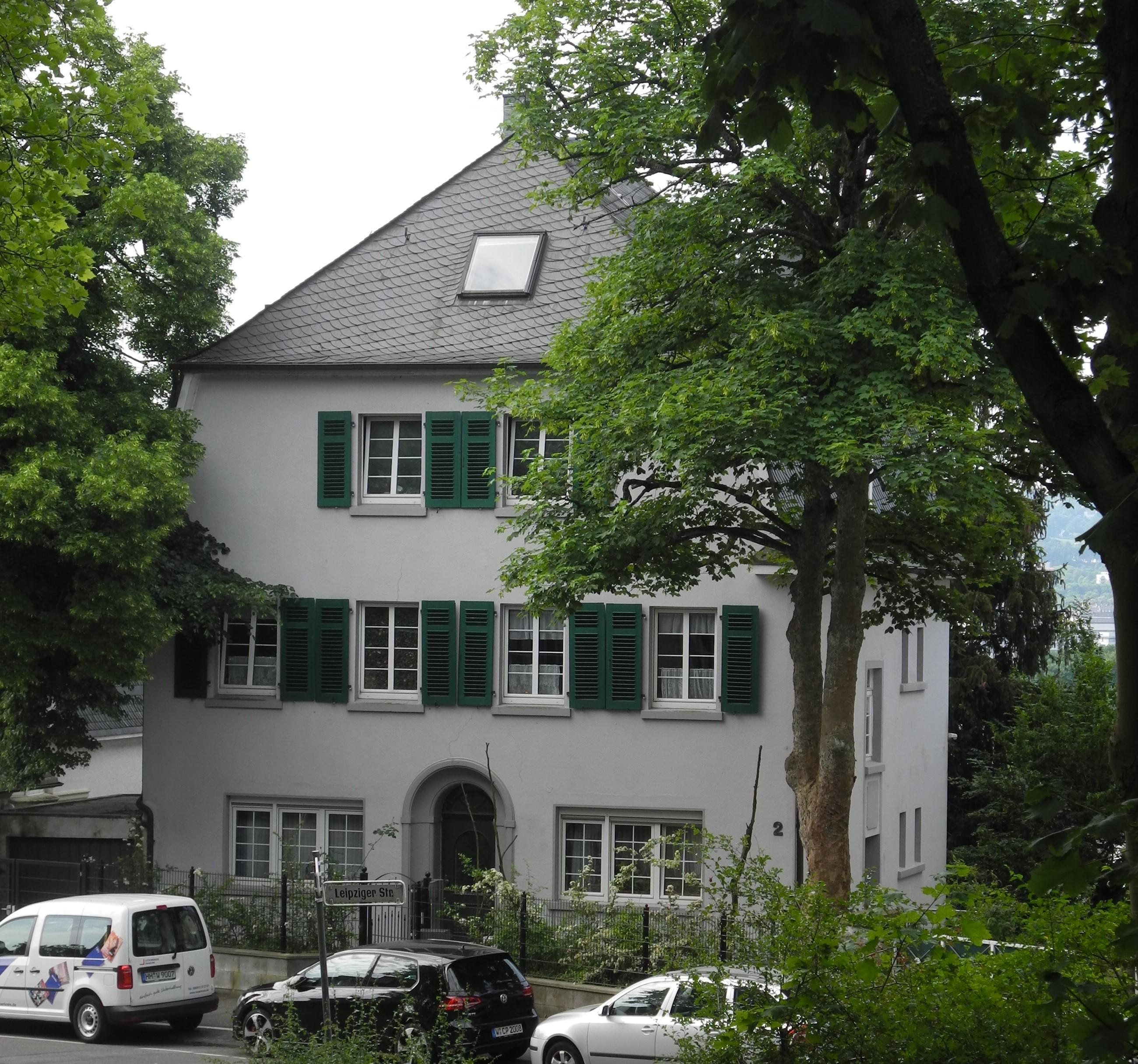 File:Wuppertal, Leipziger Str. 2, über Eck, Bild 2.jpg - Wikimedia ...
