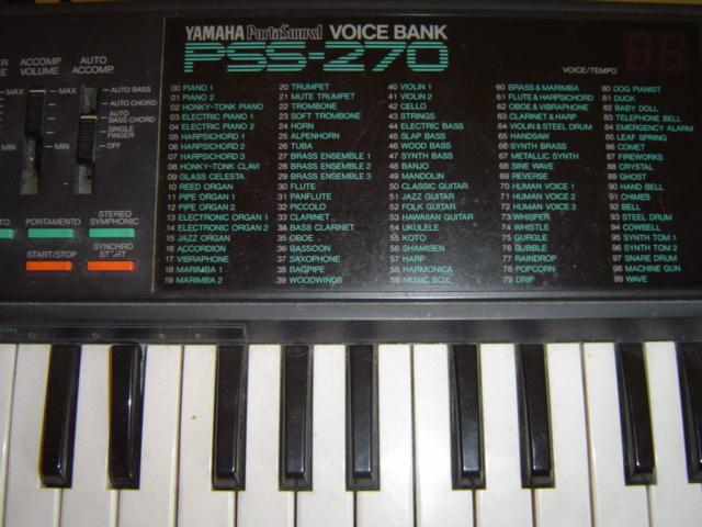 Yamaha Pss History
