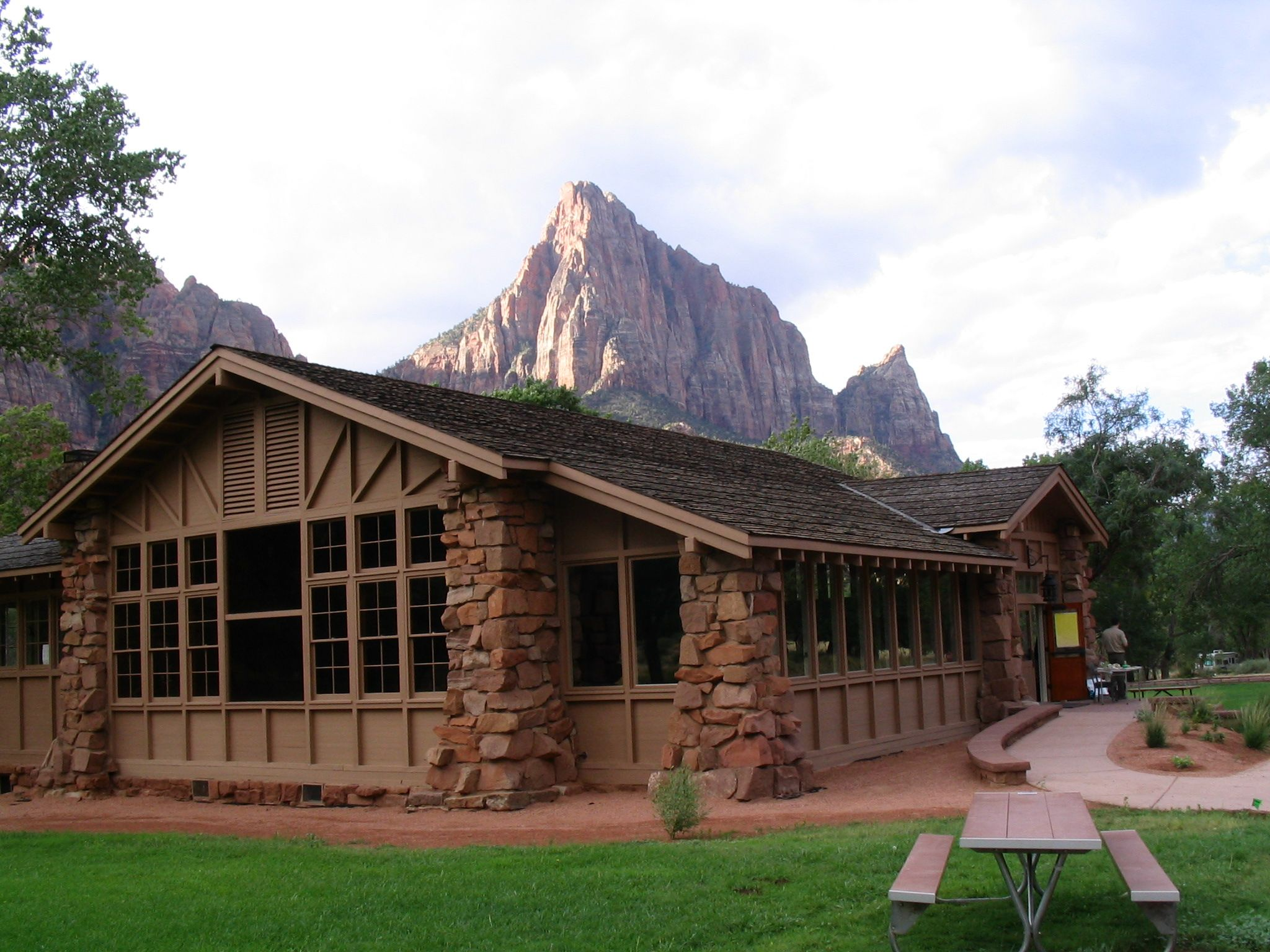 Zion nature center renovated