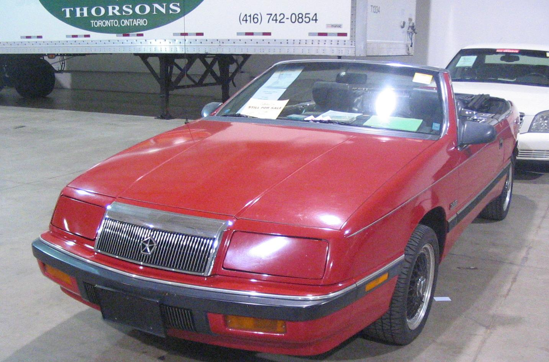 File:\'88 Chrysler LeBaron (Toronto Spring \'12 Classic Car Auction ...