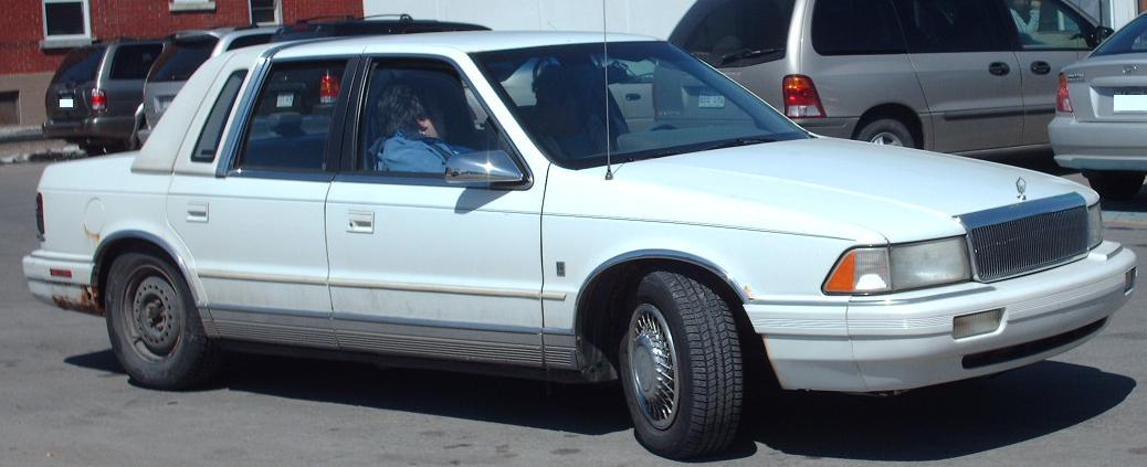File 93 94 Chrysler Lebaron Jpg Wikimedia Commons