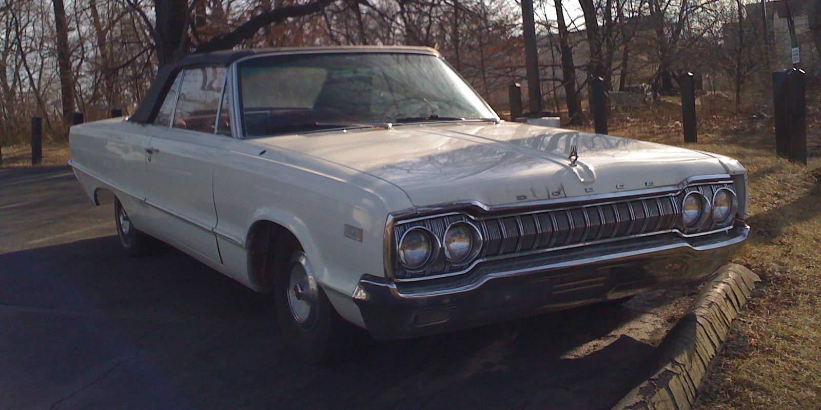 File 1965 Dodge Polara White Convertible Md-f Jpg
